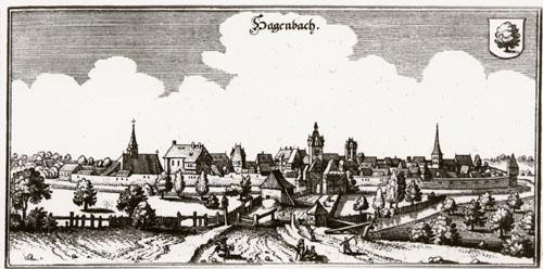 Hagenbach im Jahre 1645